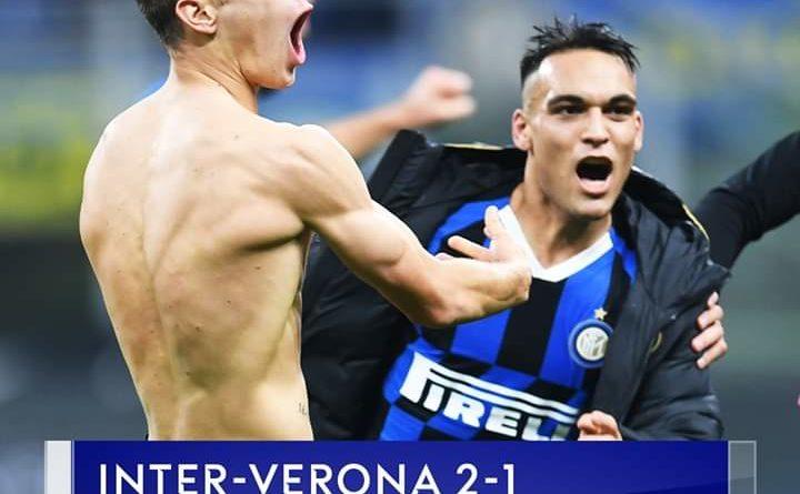 Inter mposht Veronen me mund të madh