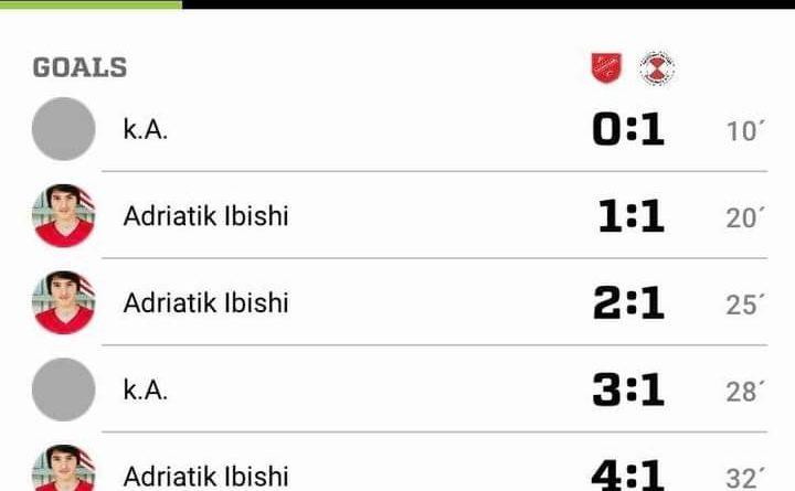 Adriatik Ibishi do bëhet futbollist i madh