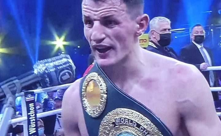 Veprimtari i njohur Anton Antoni uron bokserin tonë Haxhi Krasniqi dhe mbarë kombin
