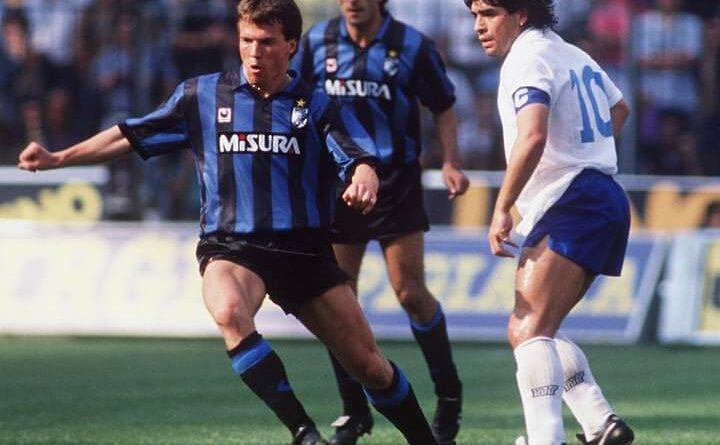 Matteus kujton derbin Inter-Napoli me një foto me Maradonen