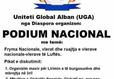 Adam Olluri dhe Unioni Global Alban në përkrahje të UÇK-së