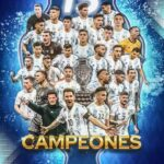 Argjentina dhe Messi Kampion të Amerikes Latine